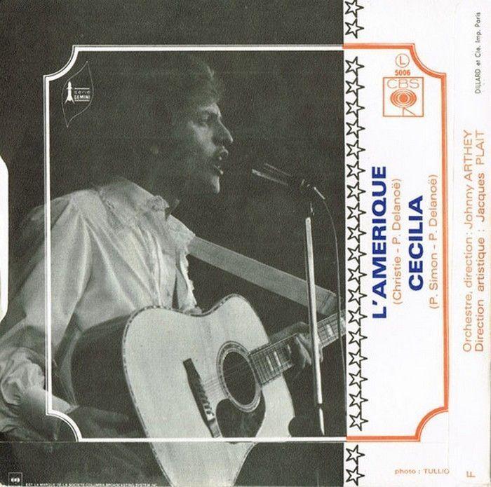 Joe Dassin - L'Amérique / Cécilia
